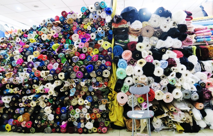 Shanghai South Bund Fabric Market