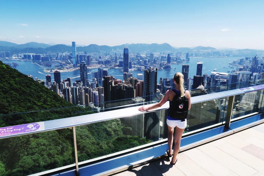 Hiking Victoria Peak Hong Kong