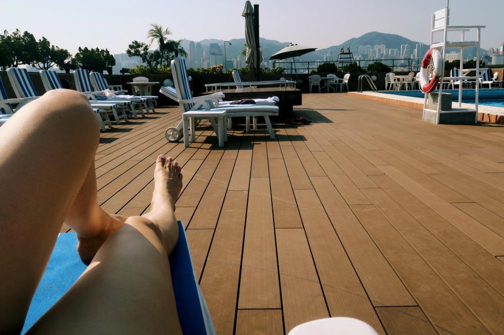 Hong Kong Rooftop Pool