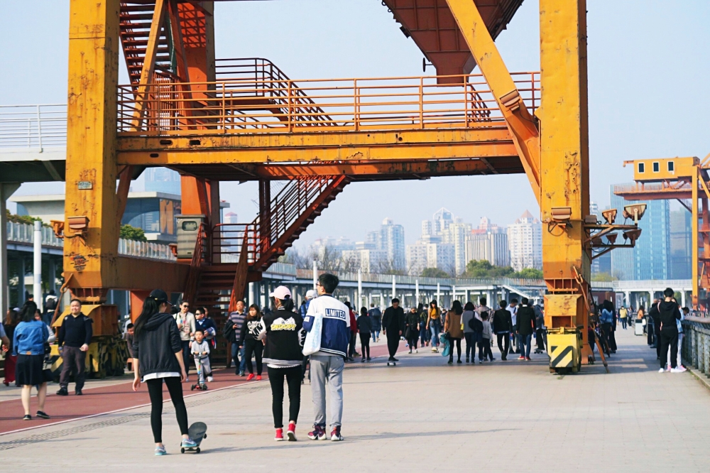 Shanghaista Blog West Bund Shanghai