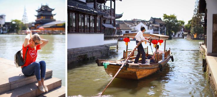 Zhujiajiao watertown shanghai